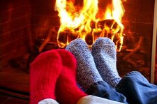 feet fireplace 2